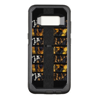 Capa OtterBox Commuter Para Samsung Galaxy S8 Chita Bling do ouro branco