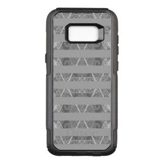 Capa OtterBox Commuter Para Samsung Galaxy S8+ Cinza Embellished Argyle listrado