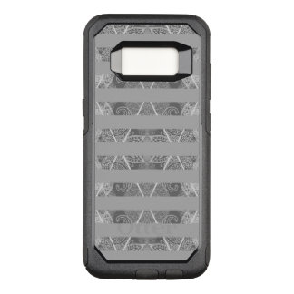 Capa OtterBox Commuter Para Samsung Galaxy S8 Cinza Embellished Argyle listrado