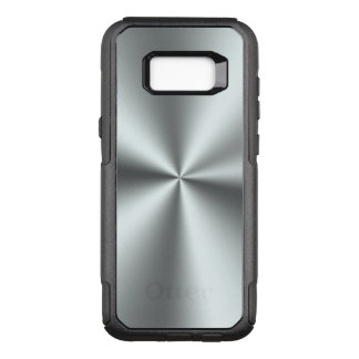 Capa OtterBox Commuter Para Samsung Galaxy S8+ Cinzas de prata metálicas