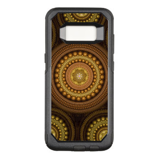 Capa OtterBox Commuter Para Samsung Galaxy S8 Círculos do Fractal