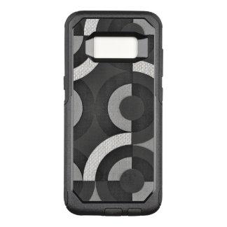 Capa OtterBox Commuter Para Samsung Galaxy S8 Círculos geométricos da modificação do multi olhar