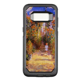 Capa OtterBox Commuter Para Samsung Galaxy S8 Claude Monet-- jardim em Vétheuil