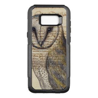 Capa OtterBox Commuter Para Samsung Galaxy S8+ Colagem da coruja de celeiro