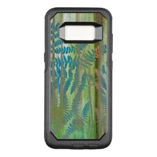 Capa OtterBox Commuter Para Samsung Galaxy S8 Colagem das samambaias da samambaia e da floresta