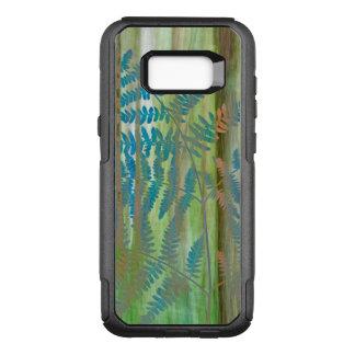 Capa OtterBox Commuter Para Samsung Galaxy S8+ Colagem das samambaias da samambaia e da floresta