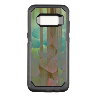 Capa OtterBox Commuter Para Samsung Galaxy S8 Colagem de Oxalis e de árvores | Seabeck, WA
