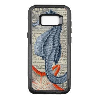 Capa OtterBox Commuter Para Samsung Galaxy S8+ Colagem do cavalo marinho