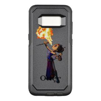 Capa OtterBox Commuter Para Samsung Galaxy S8 Comedor de fogo