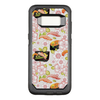 Capa OtterBox Commuter Para Samsung Galaxy S8 Comida japonesa: Teste padrão 2 do sushi