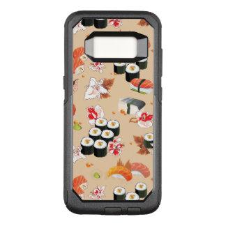 Capa OtterBox Commuter Para Samsung Galaxy S8 Comida japonesa: Teste padrão 3 do sushi