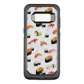 Capa OtterBox Commuter Para Samsung Galaxy S8 Comida japonesa: Teste padrão do sushi