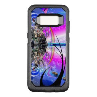 Capa OtterBox Commuter Para Samsung Galaxy S8 'Contemplation