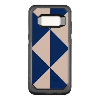 Capa OtterBox Commuter Para Samsung Galaxy S8 Cor variável do fundo dos azuis marinhos da seta