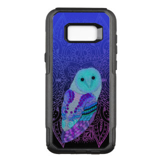 Capa OtterBox Commuter Para Samsung Galaxy S8+ Coruja de Swirly