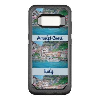 Capa OtterBox Commuter Para Samsung Galaxy S8 Costa de Amalfi, viagem ao trabalho da galáxia S8