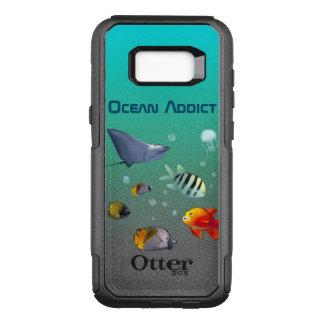 Capa OtterBox Commuter Para Samsung Galaxy S8+ Criaturas marinhas coloridas