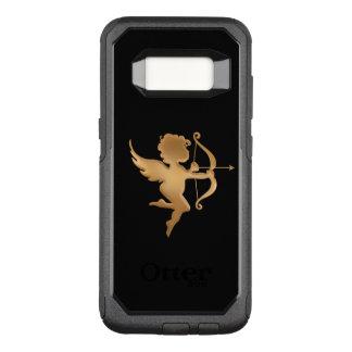 Capa OtterBox Commuter Para Samsung Galaxy S8 Cupido dourado