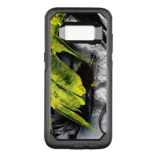 Capa OtterBox Commuter Para Samsung Galaxy S8 Cursos expressivos da escova da textura do Grunge