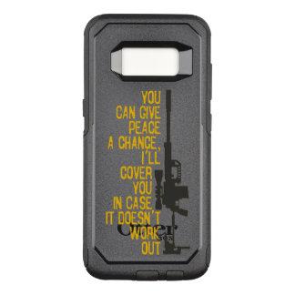 Capa OtterBox Commuter Para Samsung Galaxy S8 Dê a paz uma possibilidade que eu o cobrirei