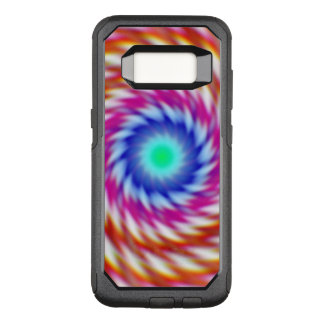 "Capa OtterBox Commuter Para Samsung Galaxy S8 De ""Fractal psicadélico original do Animus"