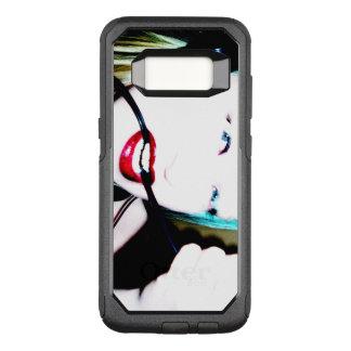 Capa OtterBox Commuter Para Samsung Galaxy S8 Dentes vermelhos do cabo | dos lábios |