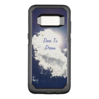 Capa OtterBox Commuter Para Samsung Galaxy S8 Desafio para sonhar o céu do verão