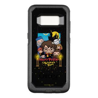Capa OtterBox Commuter Para Samsung Galaxy S8 Desenhos animados Harry Potter e a pedra do
