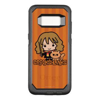 Capa OtterBox Commuter Para Samsung Galaxy S8 Desenhos animados Hermione e Crookshanks