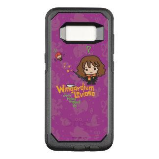 Capa OtterBox Commuter Para Samsung Galaxy S8 Desenhos animados Hermione e período de Ron