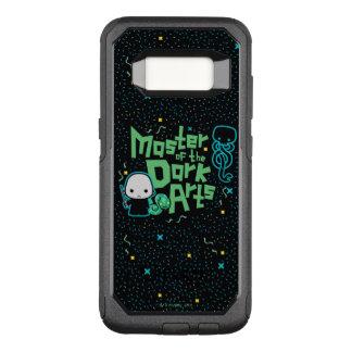Capa OtterBox Commuter Para Samsung Galaxy S8 Desenhos animados Voldemort - mestre das artes