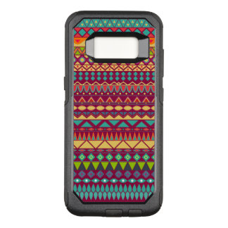 Capa OtterBox Commuter Para Samsung Galaxy S8 Design abstrato listrado tribal do teste padrão
