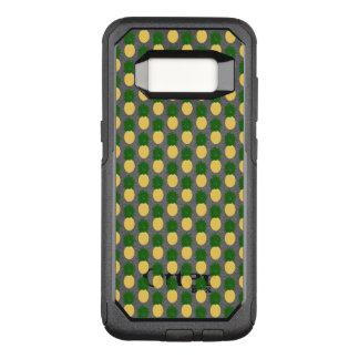 Capa OtterBox Commuter Para Samsung Galaxy S8 Design do abacaxi da aguarela