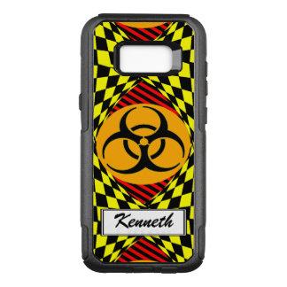Capa OtterBox Commuter Para Samsung Galaxy S8+ Design do Biohazard por Kenneth Yoncich