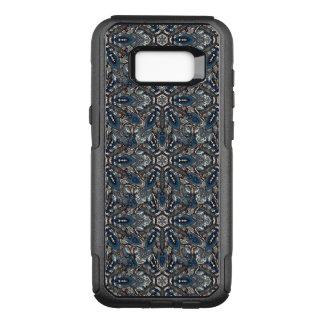 Capa OtterBox Commuter Para Samsung Galaxy S8+ Design floral do teste padrão do abstrato da
