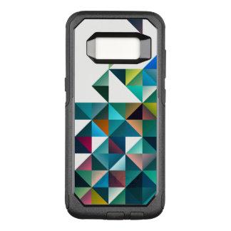 Capa OtterBox Commuter Para Samsung Galaxy S8 Design geométrico abstrato colorido dos triângulos