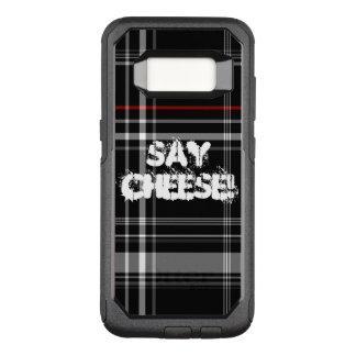 Capa OtterBox Commuter Para Samsung Galaxy S8 diga a xadrez do queijo