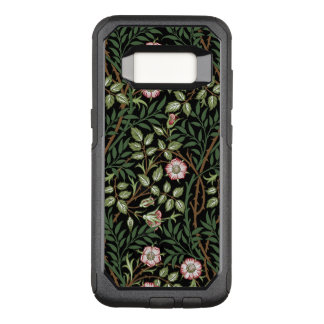 Capa OtterBox Commuter Para Samsung Galaxy S8 Do vintage doce do Briar de William Morris teste