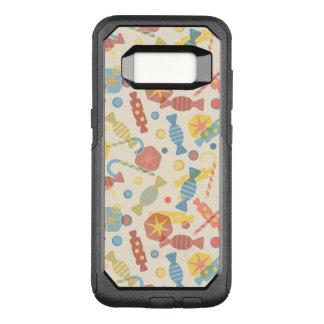 Capa OtterBox Commuter Para Samsung Galaxy S8 Doces e teste padrão dos doces