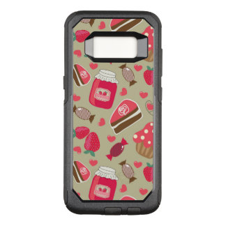 Capa OtterBox Commuter Para Samsung Galaxy S8 Doces retros