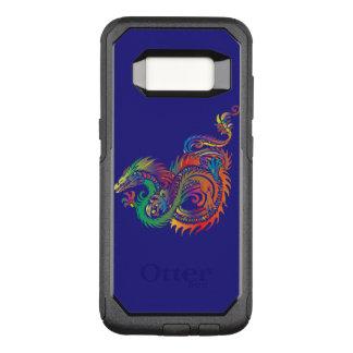 Capa OtterBox Commuter Para Samsung Galaxy S8 Dragão tribal na caixa da galáxia S8 Otterbox de