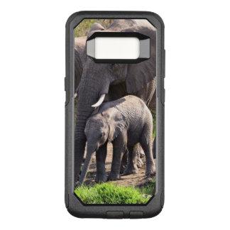 Capa OtterBox Commuter Para Samsung Galaxy S8 Elefante africano novo com bebê