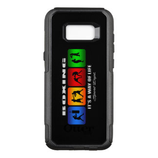 Capa OtterBox Commuter Para Samsung Galaxy S8+ Encaixotamento legal é um modo de vida
