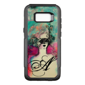 Capa OtterBox Commuter Para Samsung Galaxy S8+ ENCANTE /Lady com verde da cerceta do rosa do