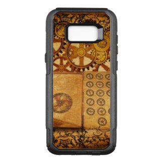 Capa OtterBox Commuter Para Samsung Galaxy S8+ Engrenagens de Steampunk do Grunge
