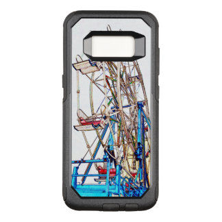 Capa OtterBox Commuter Para Samsung Galaxy S8 Esboço do Roda-Giz de Ferris por Shirley Taylor