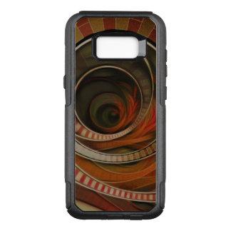 Capa OtterBox Commuter Para Samsung Galaxy S8+ Escadaria do Fractal do país das maravilhas, circo