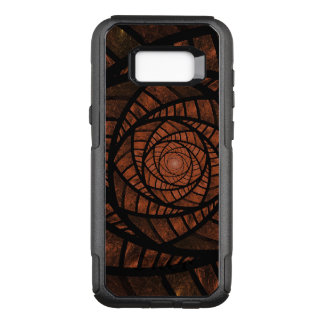 Capa OtterBox Commuter Para Samsung Galaxy S8+ Espiral de Brown