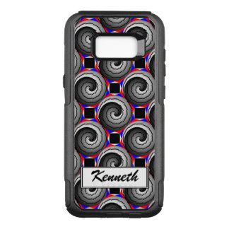 Capa OtterBox Commuter Para Samsung Galaxy S8+ Espiral dobro de Yin Yang por Kenneth Yoncich