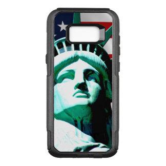 Capa OtterBox Commuter Para Samsung Galaxy S8+ Estátua da liberdade, New York, NY